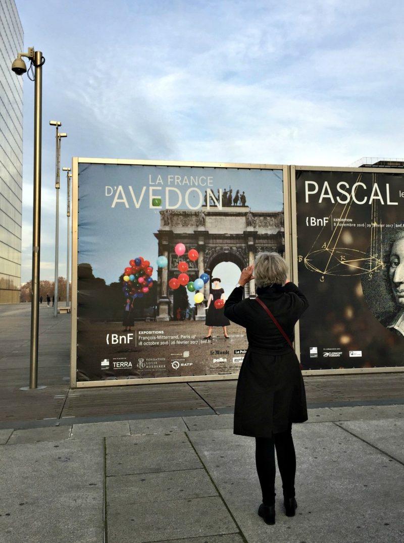 Avedon exhibition in Paris