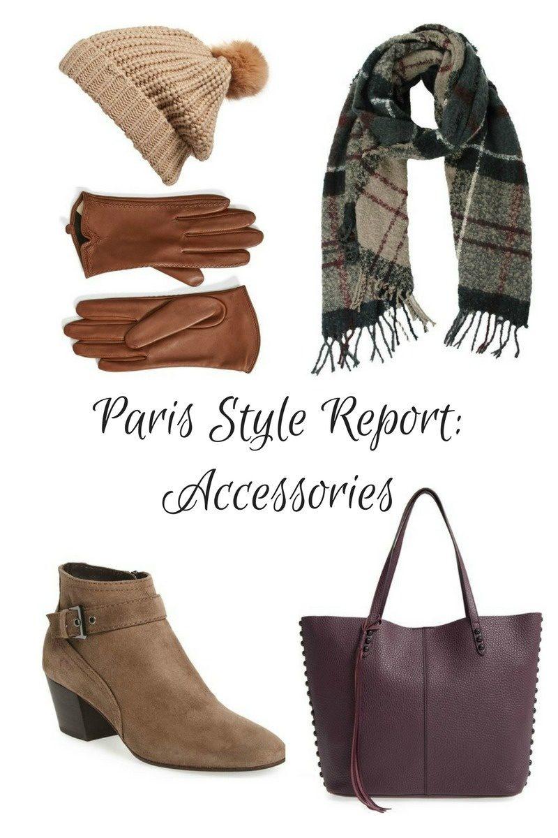 winter accessories trends in Paris