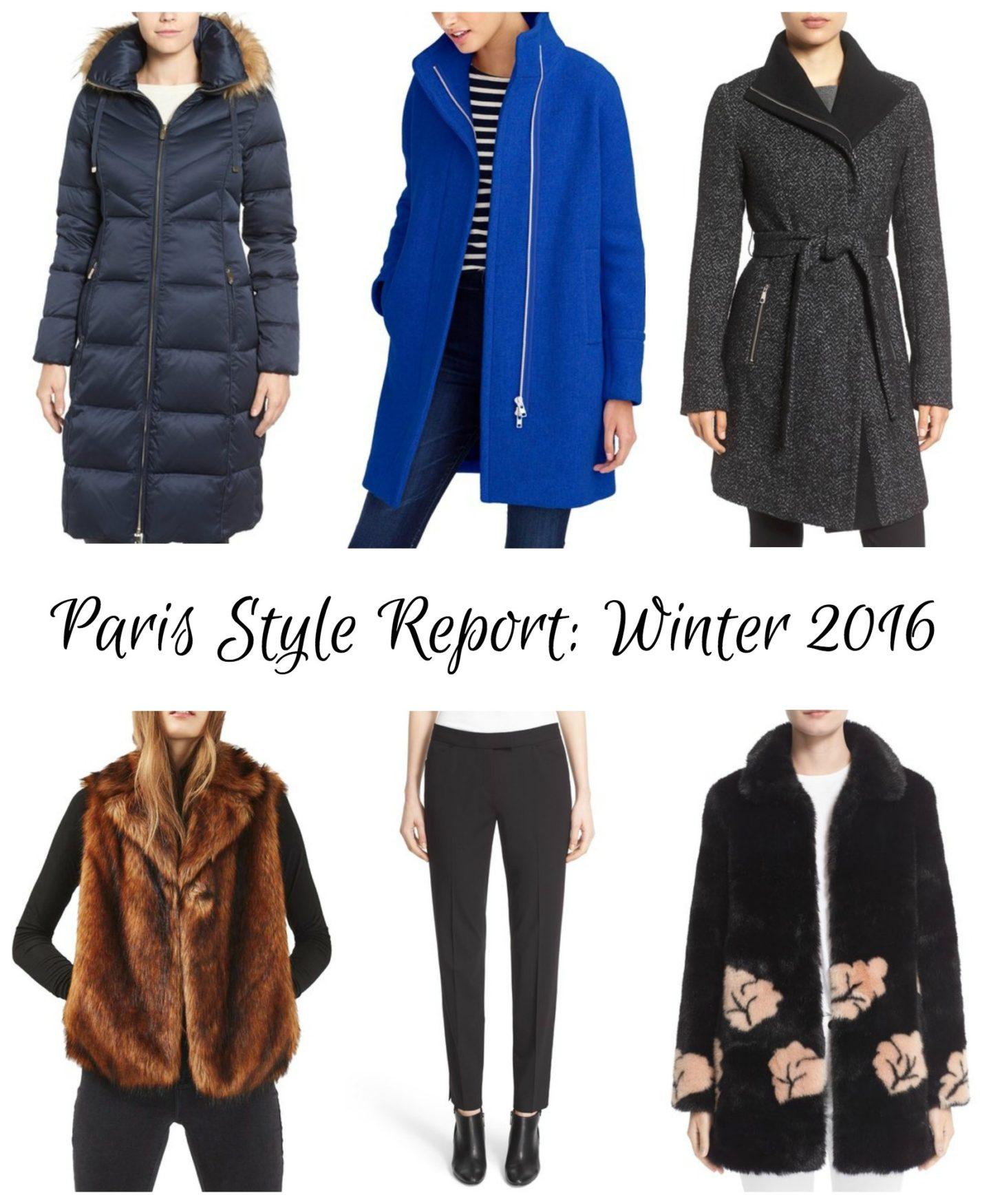 Paris Style Report: December 2016 (Part 1)