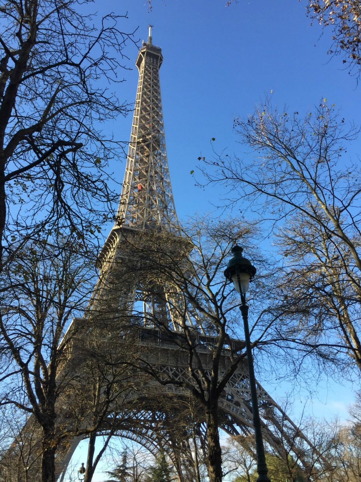 the iconic Eiffel Tower, Paris