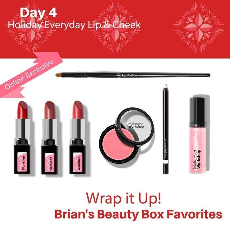 Makeover Workshop makeup gift set