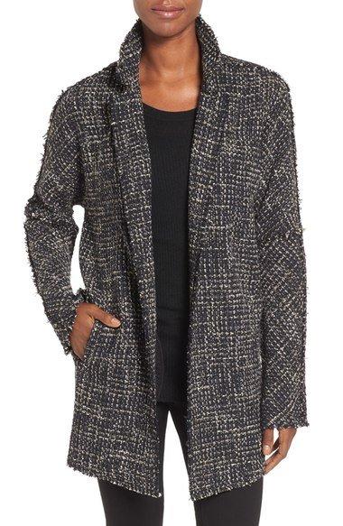 soft tweed jacket