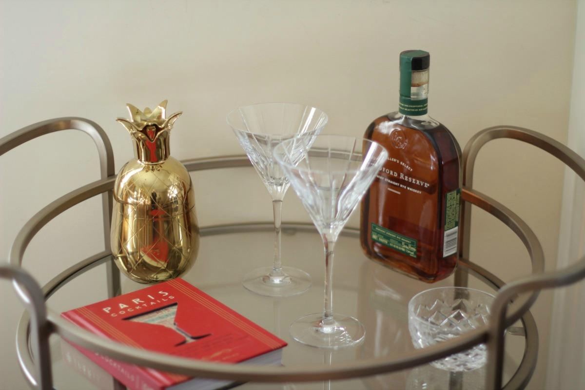 At Home: The Bar Cart