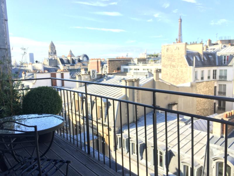 Paris balcony, Eiffel Tower view