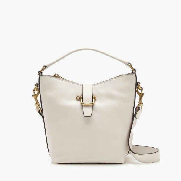 hobo bag in white