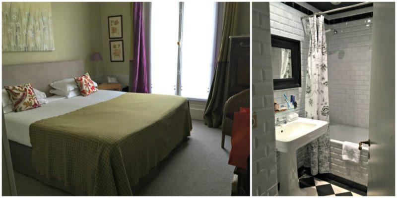 Hotel Sainte Beuve room