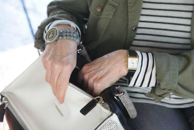 Givenchy Pandora, French Kande bracelet