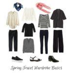 spring travel wardrobe for Europe