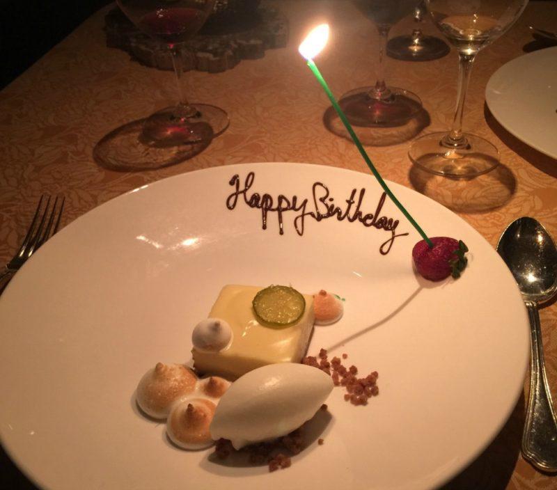 dessert at Auberge du Soleil