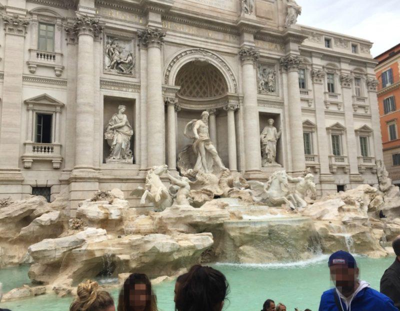 Trevi Fountain in Rome