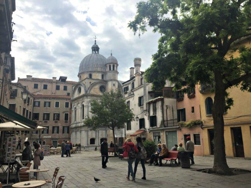 square in Venice
