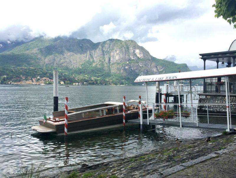 Lake Como taxi boat service
