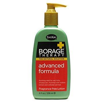 Lifestyle blogger Susan B. recommends fragrance-free borage lotion for dry skin. Details at une femme d'un certain age.
