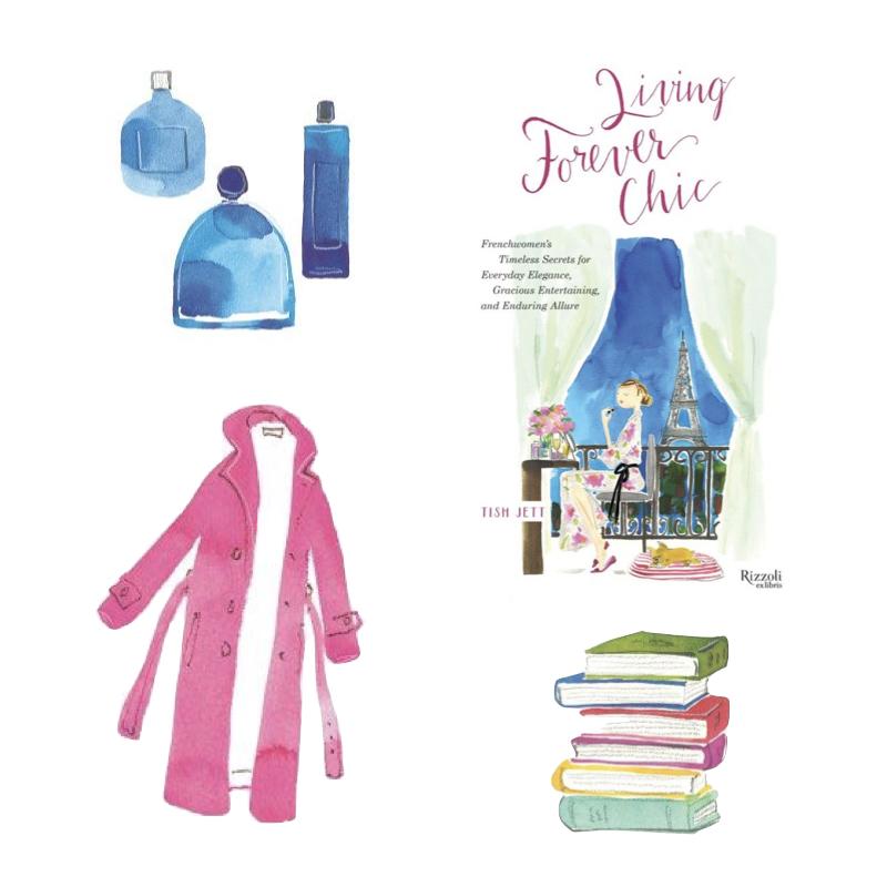 """Living Forever Chic, a new book by Tish Jett. """"L'Art de Vivre."""" Details at une femme d'un certain age"""