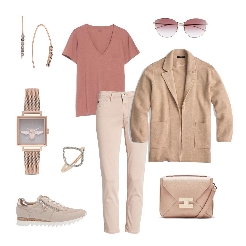 Spring Trends Rose Gold \u0026 Tonal Dressing , une femme d\u0027un