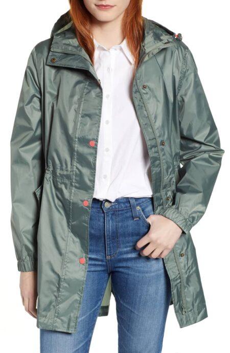 Joules Right As Rain coat in Laurel. More raincoats for travel at une femme d'un certain age.
