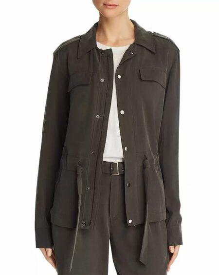 Paige Tierra utility jacket. Details at une femme d'un certain age.