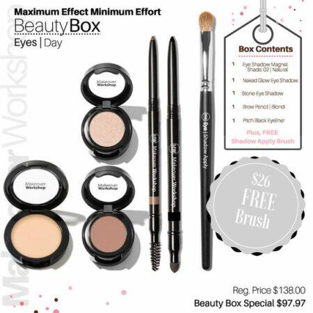 Makeover Workshop Beauty Box: Day Eyes. Details at une femme d'un certain age.