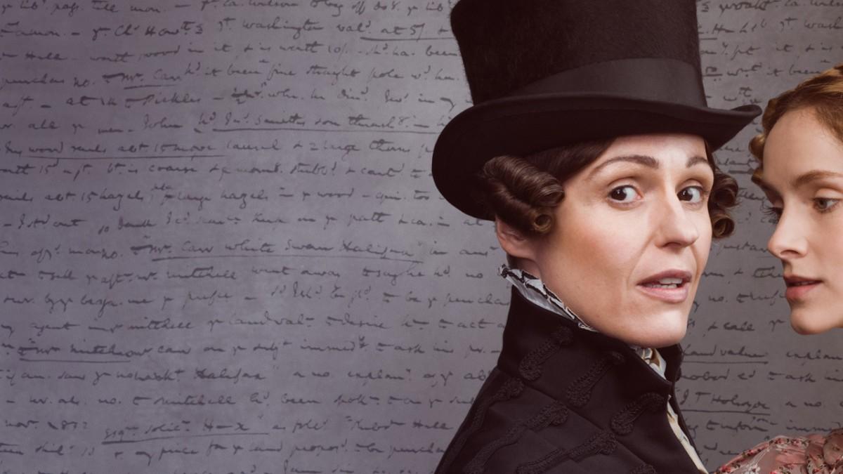 Suranne Jones as Ann Lister in the series Gentleman Jack.