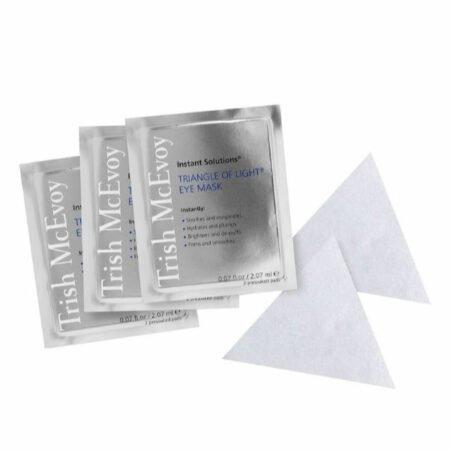Trish McEvoy Instant Solutions Triangle of Light Eye Mask. Details at une femme d'un certain age.
