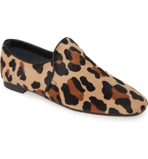 Aquatalia leopard loafers on sale. Details at une femme d'un certain age.
