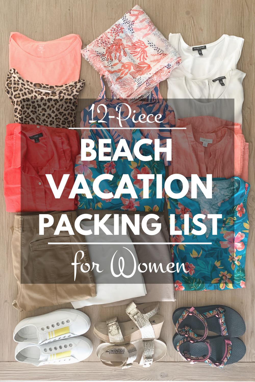 Beach Vacation Packing List For Women Une Femme D Un Certain Age