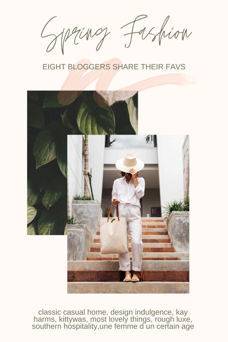 Spring Fashion Blogger Linkup! Details at une femme d'un certain age.