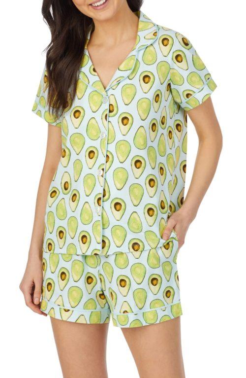 Bedhead avocado print pajama set. Details at une femme d'un certain age.