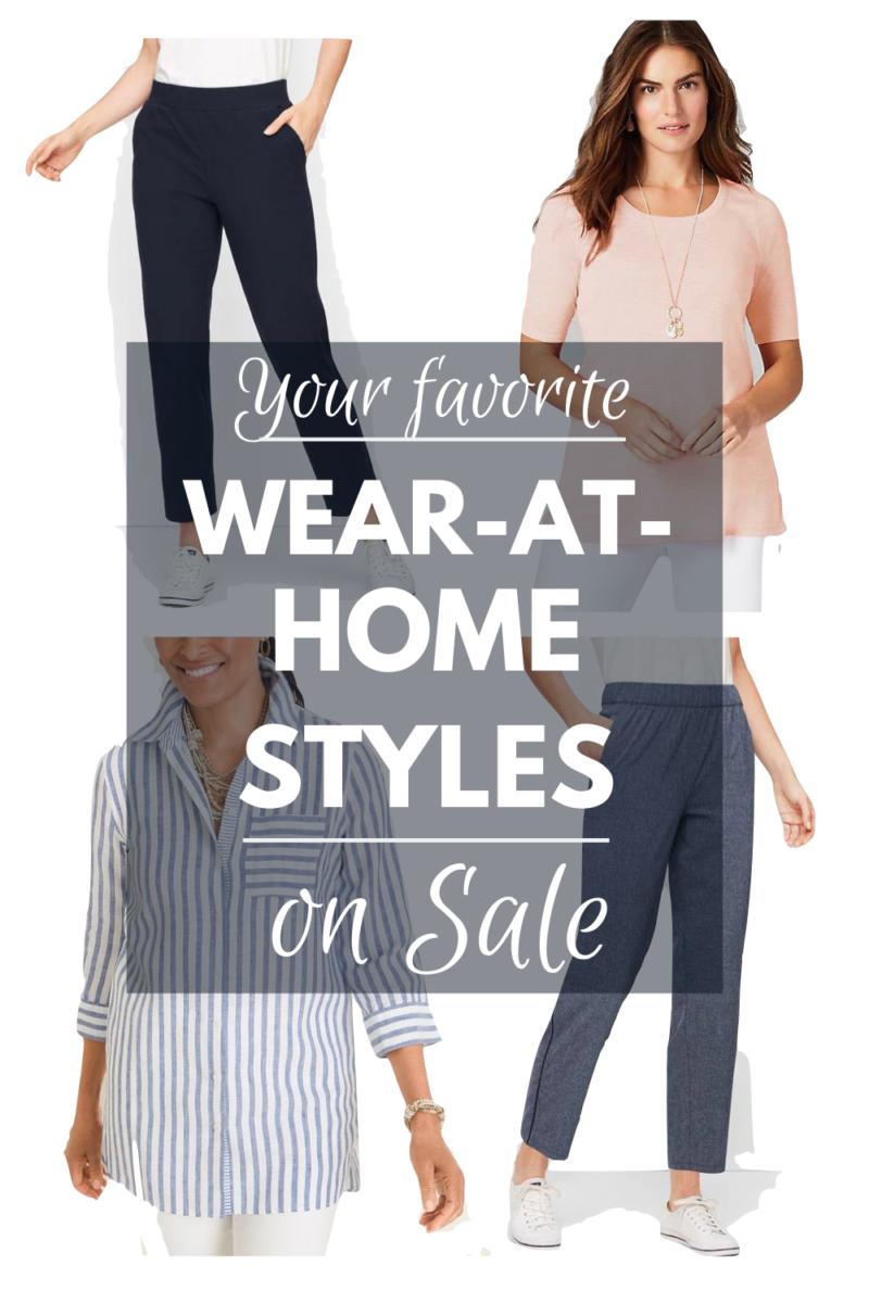 Your favorite wear-at-home styles on sale. Details at une femme d'un certain age.