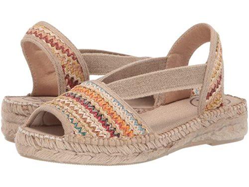 Toni Pons Estel-Ma espadrille sandal. Details at une femme d'un certain age.