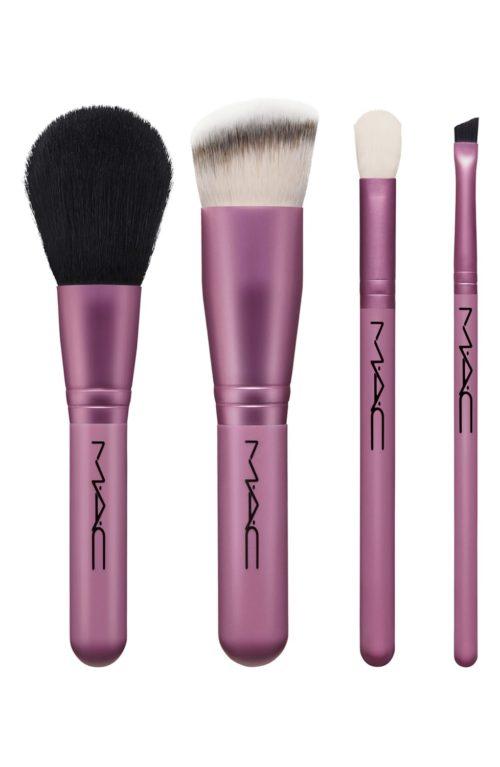 MAC makeup brush set in the Nordstrom Anniversary Sale. Details at une femme d'un certain age.
