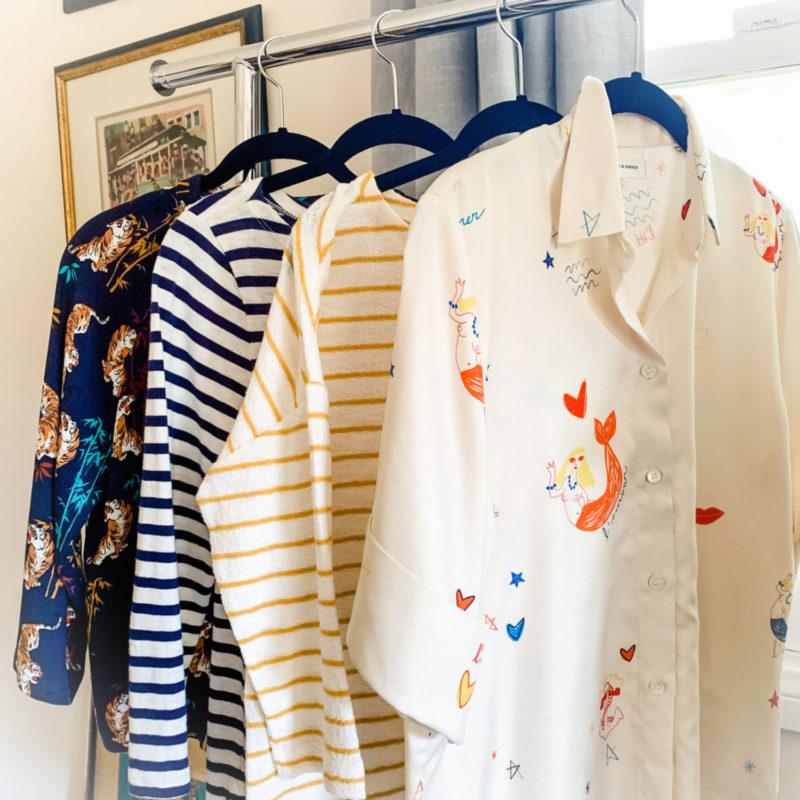 Susan B's favorite 3/4 sleeve summer tops. Details at une femme d'un certain age.