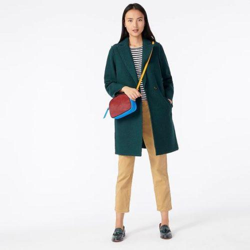J.Crew Daphne wool topcoat. Details at une femme d'un certain age.