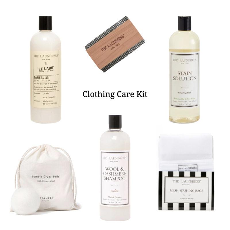 Practical gift idea: a clothing care kit. Details at une femme d'un certain age.