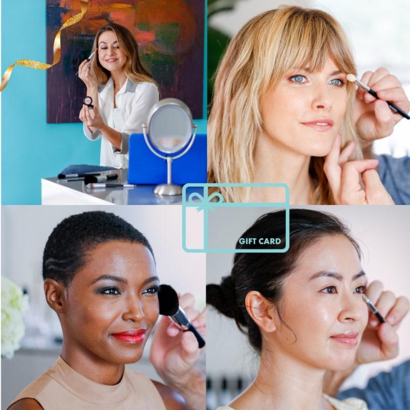 Last-minute gift idea: Brian + MW virtual makeup lesson. Details at une femme d'un certain age.
