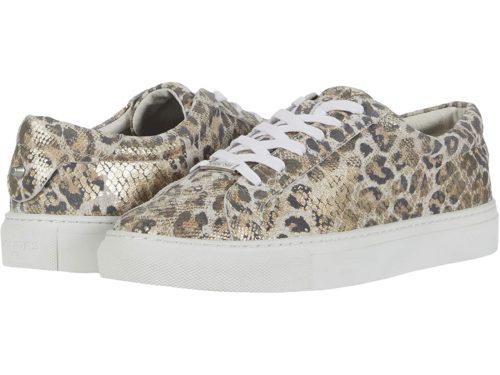 JSlides leopard print sneakers. Details at une femme d'un certain age