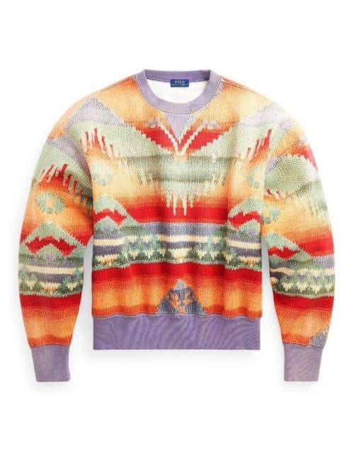 Polo Ralph Lauren sweater in Southwestern print.