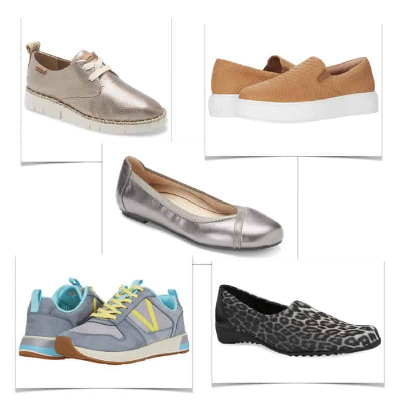 Women's shoe styles with removable insoles. Details at une femme d'un certain age.