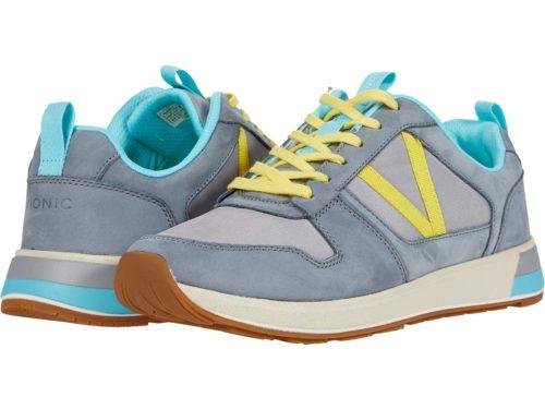 Vionic Rechelle sneakers with removable insoles. Details at une femme d'un certain age.