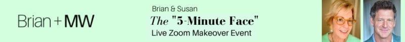 5-minute makeup zoom