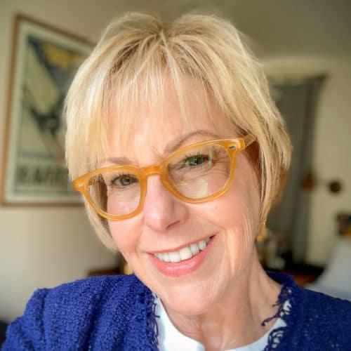 Susan Blakey of une femme d'un certain age blog.