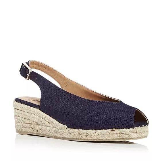 Castaner Dosalia slingback espadrille wedge sandals.