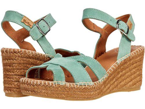 Toni Pons espadrille sandals mint green.