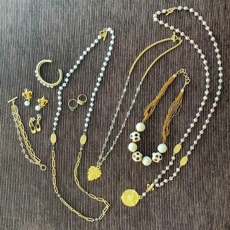 Susan B's travel jewelry capsule for Las Vegas.