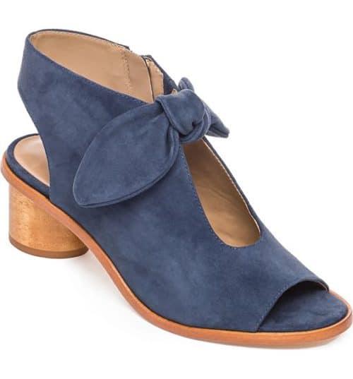 Bernardo luna sandal in blue suede