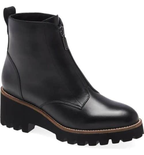 Blondo drew waterproof bootie in black. Included in the Nordstrom Anniversary Sale.