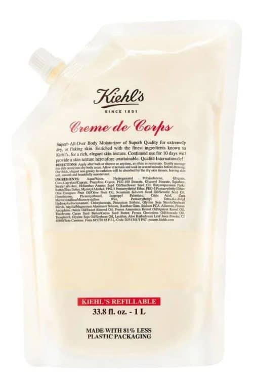 Kiehl's Creme de Corps body lotion, one of my Nordstrom Anniversary Sale picks