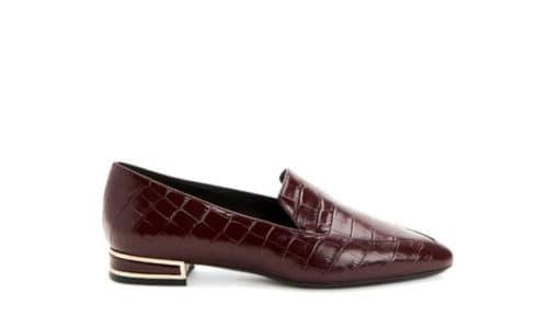 Aquatalia Perci loafer in oxblood.