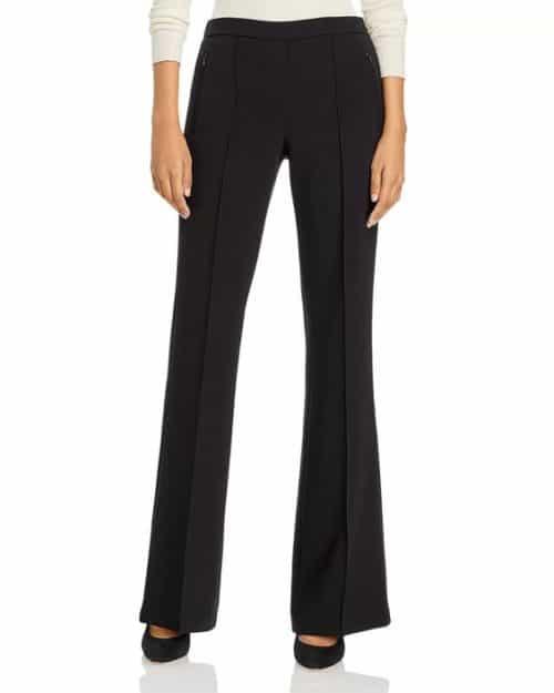 Theory Demitria pull-on pants black.