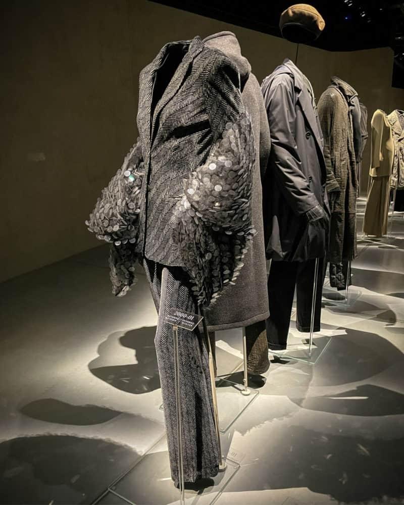 Suits and coats at Armani/Silos, Milan